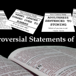 Controversial Statements of Jesus