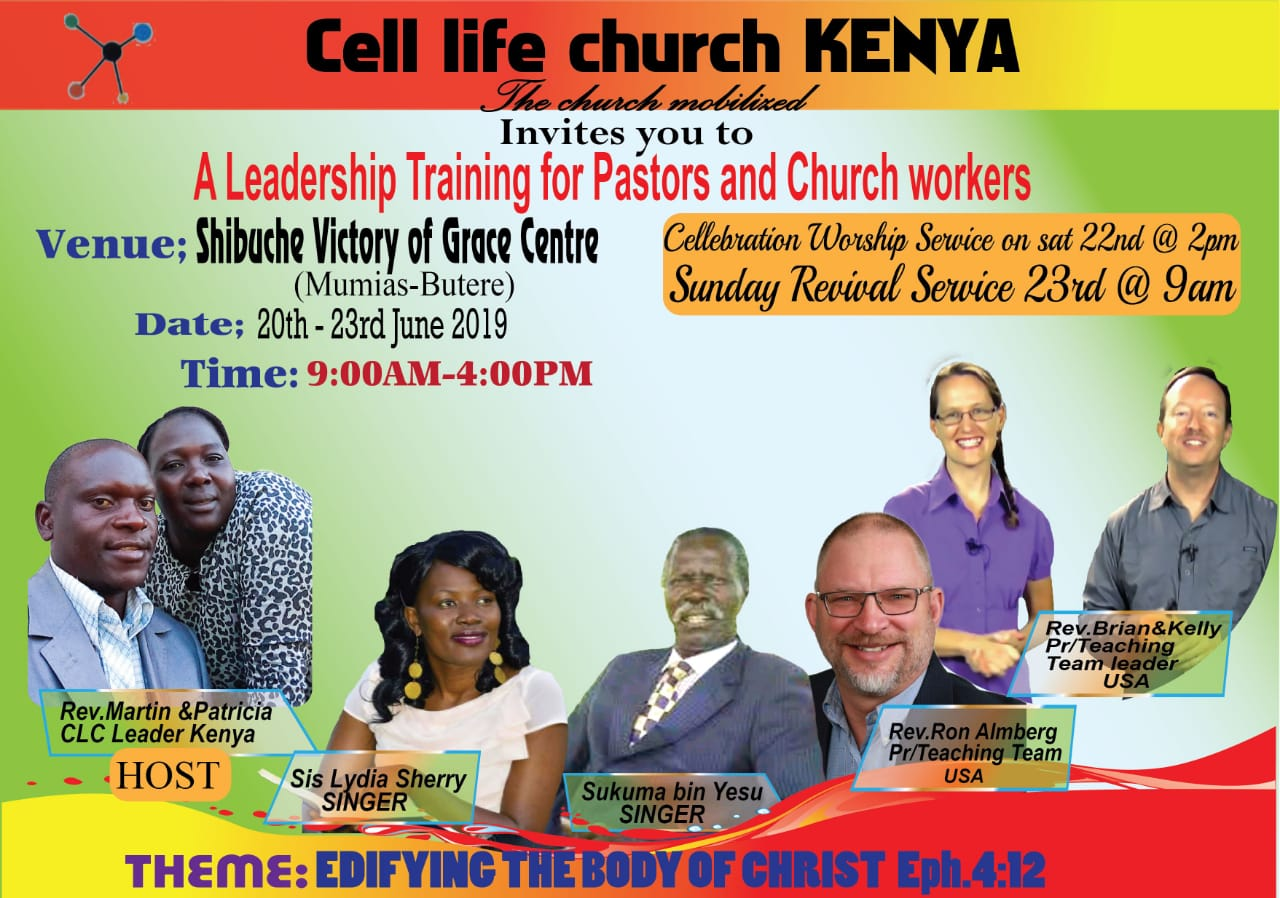 Cell Life Church Kenya - 2019 Conference