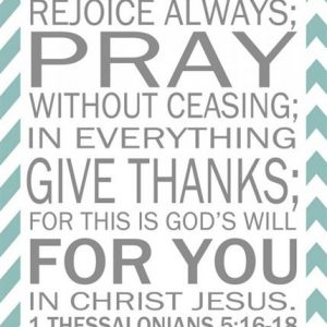 Why We Give Thanks