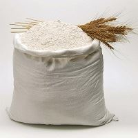 Bag of wheat flour